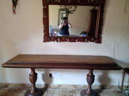 Console com espelho