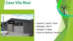 Título do anúncio: casa de 2 quartos no conjunto vila real, prox. ao terminal 4