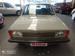 Voyage 1.5 Ls Gasolina 1982 /1982 Cinza Placa Preta !!!