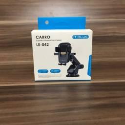 Suporte Veicular de Celular Gps Gruda Painel Automático<br>R$ 32