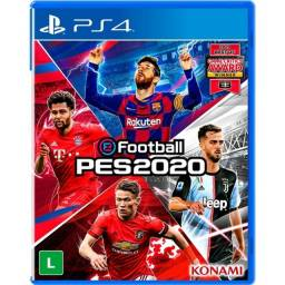 Pro Evolution Soccer 2020 Standard Edition Mídia Física PS4 Konami