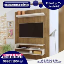 Painel p/ Tv de até 42 polegadas, 10x de R$ 69,90, sem Juros!!!