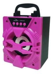 Caixa Bluetooth com usb e rádio portátil