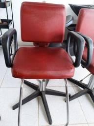 Cadeiras Hidráulicas de Salão