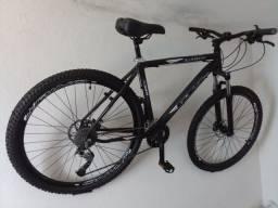 Bicicleta GTs aro 29 kit transmissão Shimano 27V