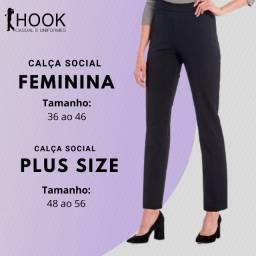 Calça Social Feminina em Two Way Dia a Dia no Trabalho