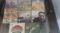 Discos de Vinil variados (Iron Maiden, Rush, Janis Joplin, The Smiths, The Cure)