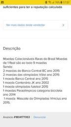 MOEDAS RARAS BRASIL PACOTE