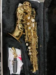 Saxofone soprano curvo Shelter