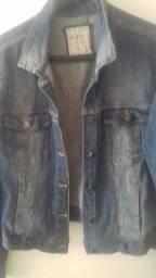 Casaco Jeans Mesclado 42