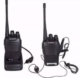 Rádio comunicador walk talk Baofeng ENTREGA GRÁTIS