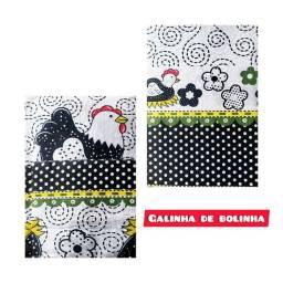 Kit  com Cortina,toalha/capa