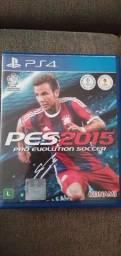 Jogo original PES 2015 PS4 pro evolution soccer