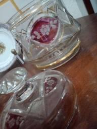 Bomboniere cristal antiga