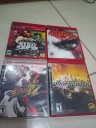 Vendo jogos originais do PS3