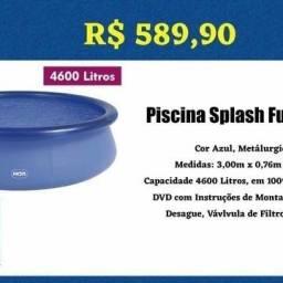 Piscina splash 4600L
