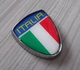 Emblema Fiat escudo brasão italia punto linea palio 500 doblo ducato