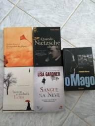 Lote 5 livros