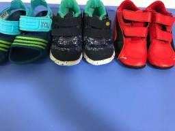 Tênis Nike+ sandália Adidas+ tênis puma 23