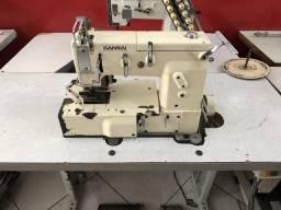 Máquina de costura Elastiqueira 12 agulhas Plana Kansai Special