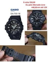Relógio Original Casio G-Shock GA-700 NOVO com garantia de 1 ano