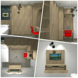 Projeto em 3d para marceneiro e arquitetos