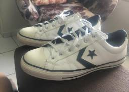 Tenis All Star Couro N 39