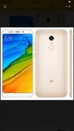 Da Xiaomi Redmi 5 novo, tela 5,7, aceito cartão
