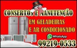 Refrigeração - Geladeira e Ar Condicionado