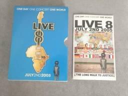 Box DVD live 8