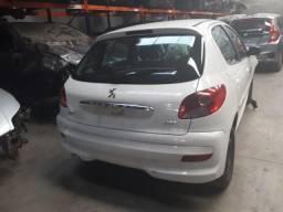 Sucata Peugeot 207 82cv 1.4 Flex - 2014