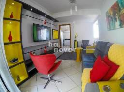 Apartamento Central Semi Mobiliado 2 Dorm (1 Suíte), Elevador, Garagem
