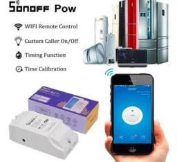 Sonoff Pow R2 16a Medidor Consumo De Energia Wifi Automação Residencial Android/IOS