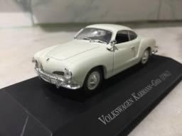 Miniatura Vw Karmann Ghia (1962) 1/43 Carros Inesquecíveis do Brasil
