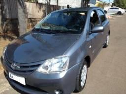 Toyota etios XS 1.3 2013-será enregue na concessionária - 2013