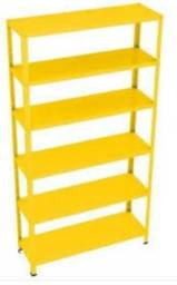 Vendo estante aço amarela