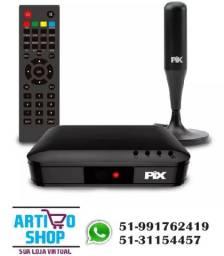 Kit Conversor Sinal Digital Hdtv + Antena Digital Interna