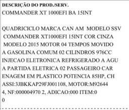Vende-se quadriciclo - 2015