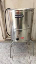 Fritadeira Industrial Água E Óleo Metvisa (Muito conservada)