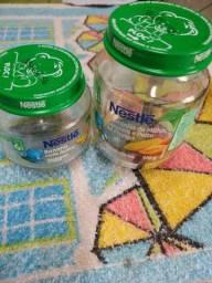 Vendo potes vazios da Nestlé
