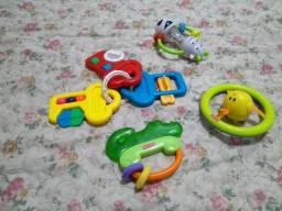 Brinquedos para bebê - todos da foto - fisher price