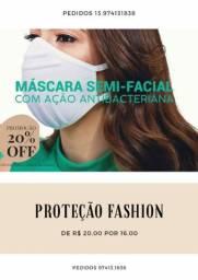 Máscara antibacteriana fashion