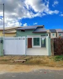 Casa linear com 3 quartos