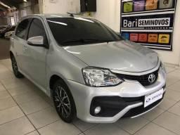 Etios platinum 1.5 aut flex 2017 - 2017