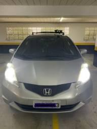 Honda Fit LX 1.4 Automático 2010 gasolina + bancos de couro + Kit multimidia - 2010