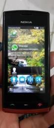 Celular Nokia com zap