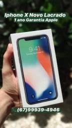 IPhone X 64Gb Novo lacrado