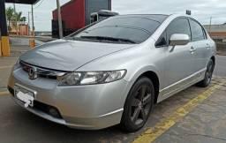 Honda Civic automático 2008 aceita financiamento - 2008