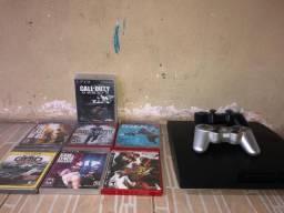PS3 console + jogos