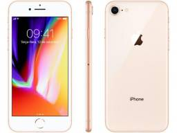 IPhone 8 - Dourado - 64GB - Seminovo - Garantia 90 dias - Com caixa original